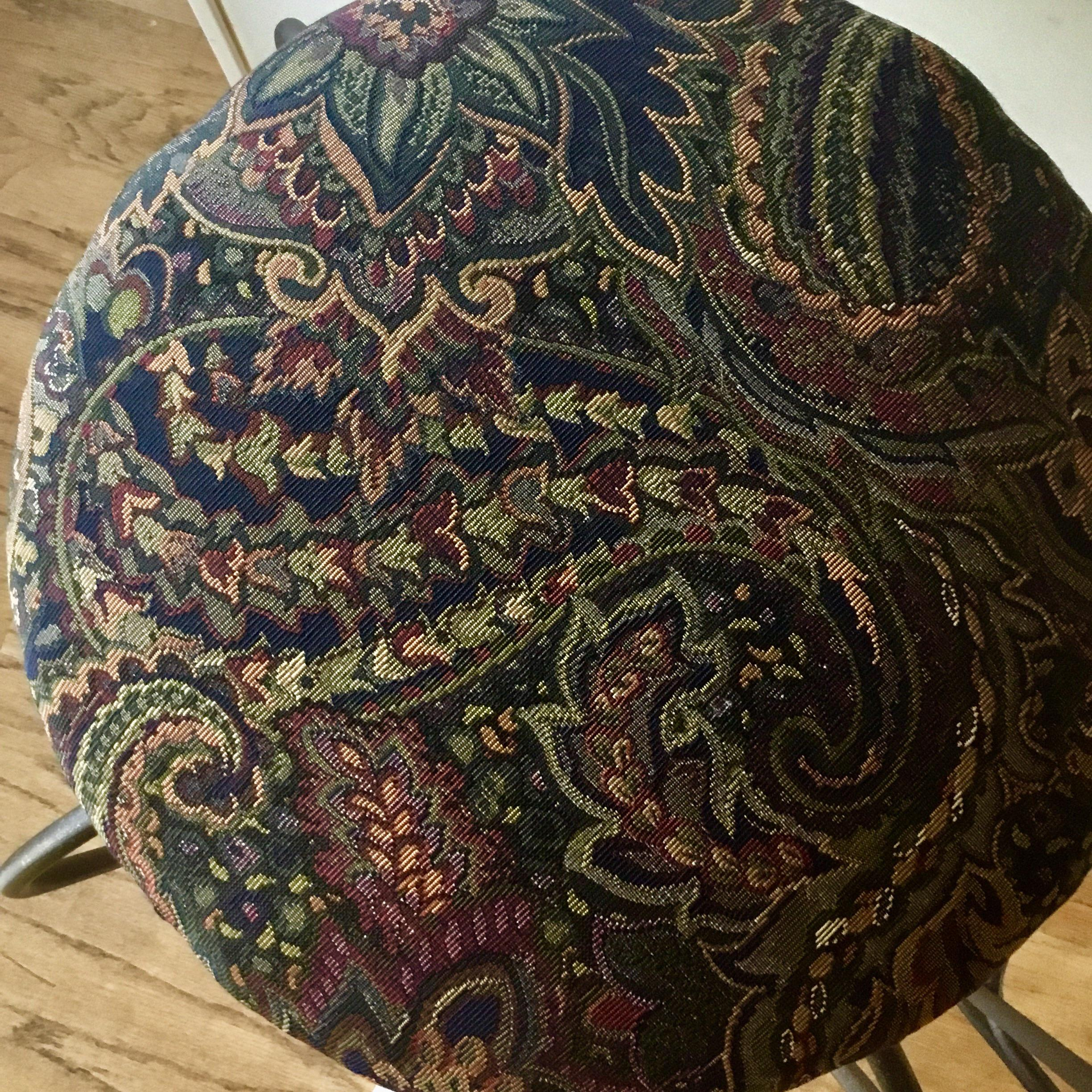 Paisley Bar Stools Set Of 3 Chairish
