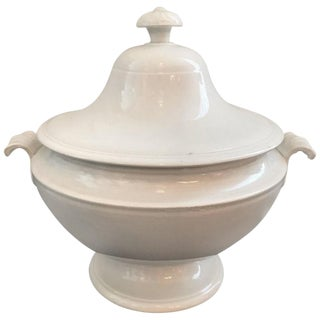 19th Century Ironstone Tureen For Sale