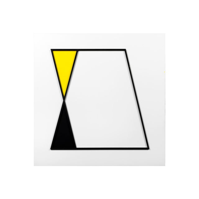 """""""Parallelogram Study"""" by Natasha Kohli uses negative space and the relationship between lines and shape to create a..."""