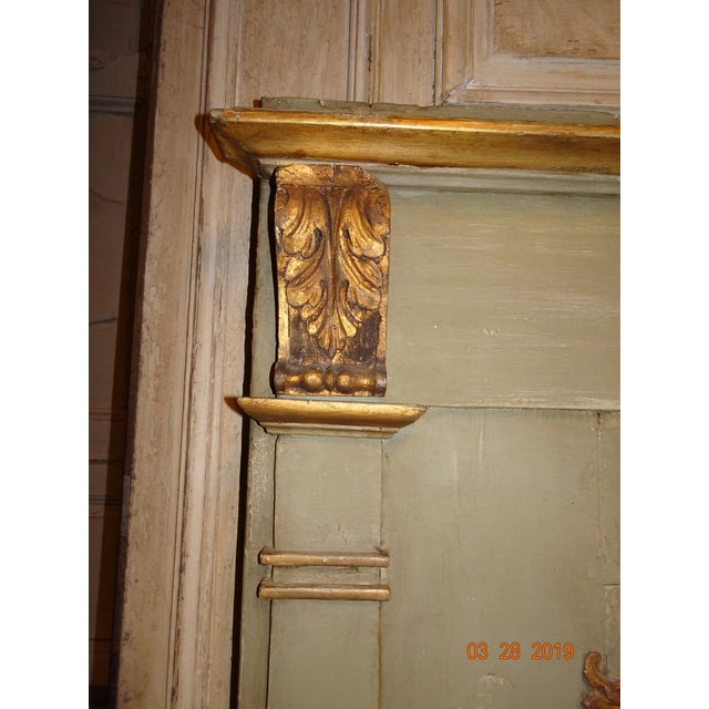 19th Century French Trumeau Mirror For Sale - Image 9 of 12