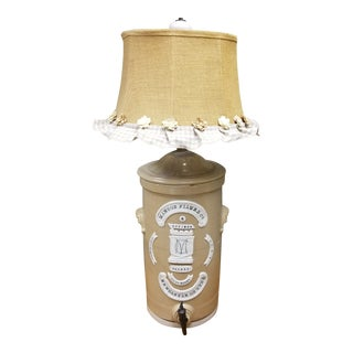Stoneware Lamp For Sale