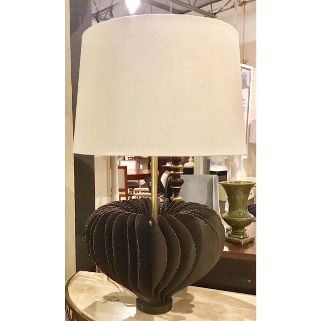 john richards mid century brutalist style lamps a pair chairish
