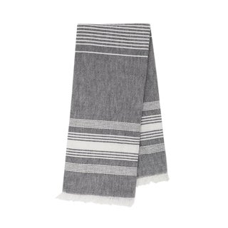 Grey Chambray Kitchen Towel For Sale