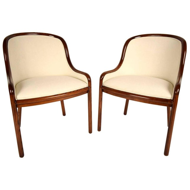 Ward Bennett Hall Chairs - Pair - Image 1 of 7