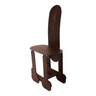 Phallic Steel Chair
