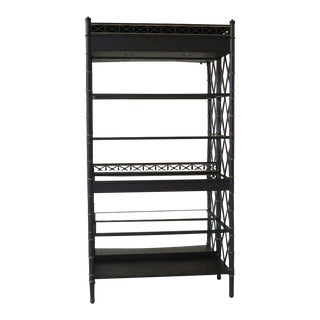 Modern Ej Victor Regency Style Newport Curio Etagere For Sale