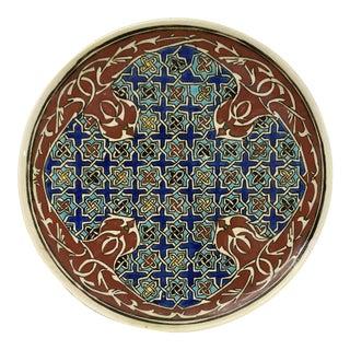 Vintage Handcrafted Turkish Decorative Plate