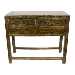 Antique Ningbo Console Table For Sale