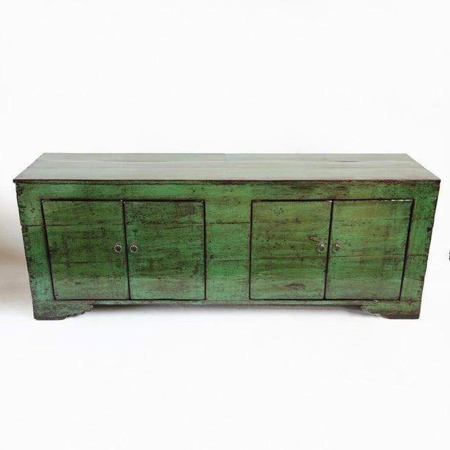 Emerald Green Mongolian Sideboard - Image 2 of 4