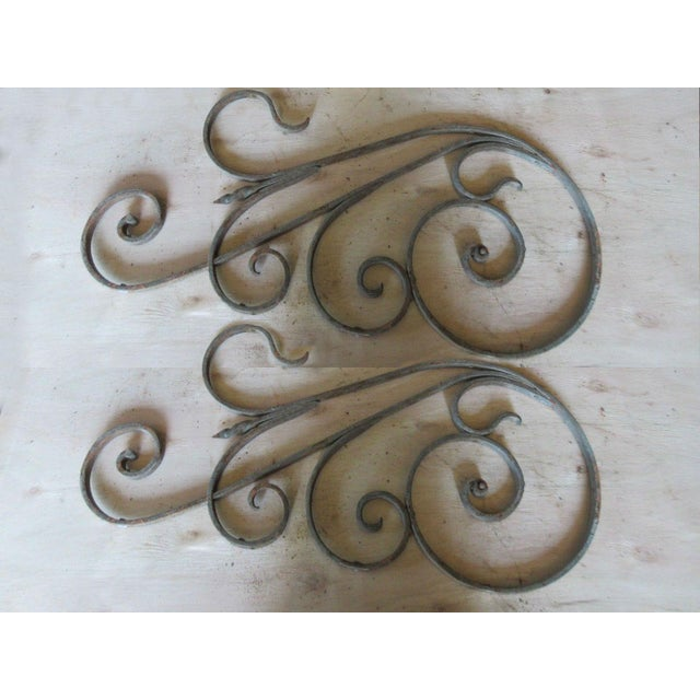 Antique Victorian Iron Gate Architectural Salvage - Image 2 of 5