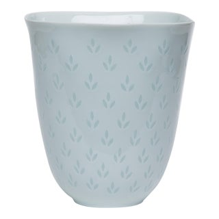 Fluted Porcelain Vase by Freidl Holzer-Kjellberg for Arabia of Finland For Sale