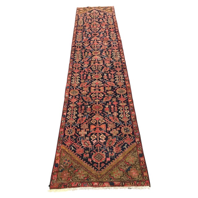 Antique Persian Malayer Runner - 2′5″ × 10′11″ - Image 1 of 8