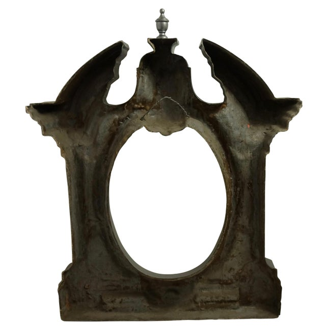Silver Architectural European Style Dormer Window Frame For Sale - Image 8 of 9