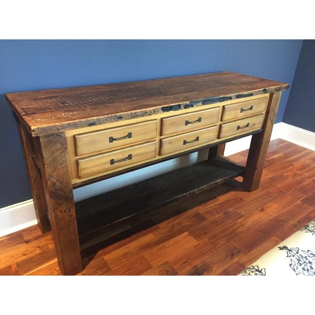 Reclaimed Wood Sideboard - Image 2 of 4