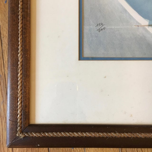 """Abstract 1960s Vintage """"The Race"""" French Cubist Lithograph by Jacques Ceria Despierre For Sale - Image 3 of 8"""
