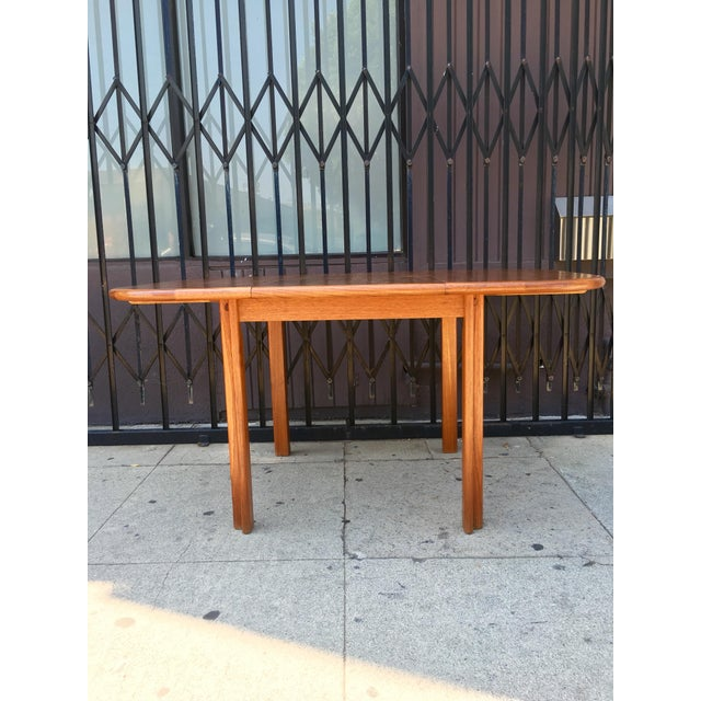 Dscan Expanding Teak Table - Image 11 of 11