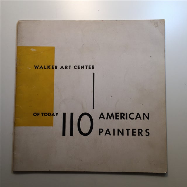 Minneapolis: Walker Art Center, 1944. First edition. Soft cover with wraps. Foreword by D. S. Defenbacher. 24pp. Checklist...