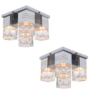 Sciolari Attributed Flush Mount Fixtures