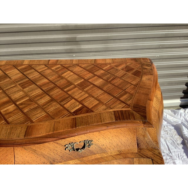 Italian Bombay Chest W/ Parquetry For Sale - Image 12 of 13