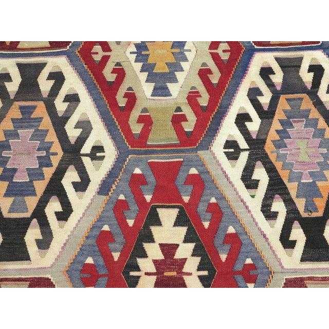 Vintage Turkish Kilim Rug - Image 5 of 9