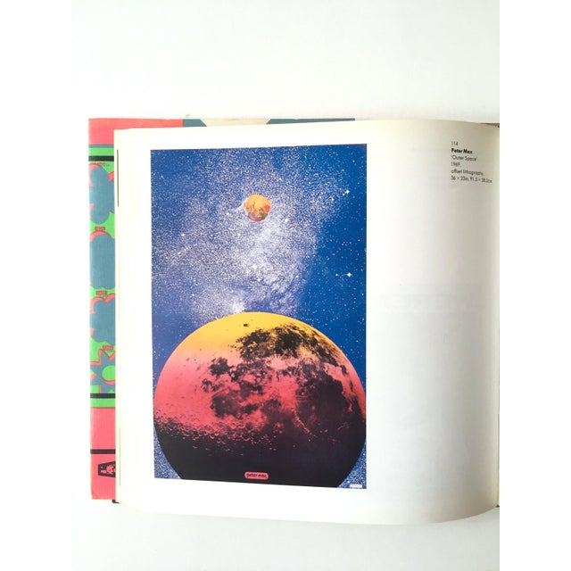 "Milton Glaser 1st Edition 1975 "" Images of an Era : The American Poster 1945 - 75 "" Rare Collector's Art Book For Sale - Image 4 of 11"