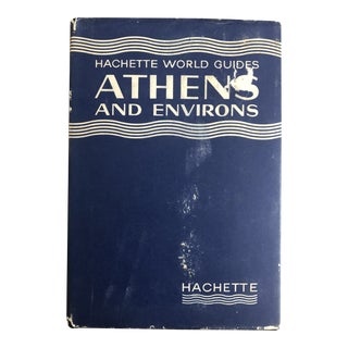 Mid-Century Athens Guide Book With Fold Out Maps 1962 For Sale
