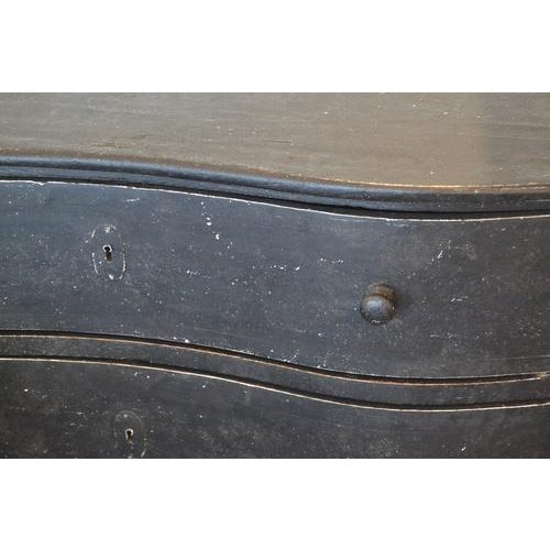 Contemporary Black Chest of Drawers, 19th Century For Sale - Image 3 of 9