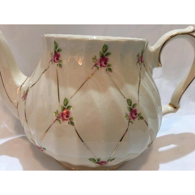 Cottage English Sadler Porcelain Teapot For Sale - Image 3 of 7