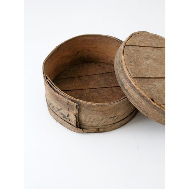 Antique Primitive Cheese Box - Image 3 of 6