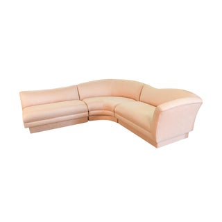 Mid Century Vladimir Kagan Style for Directional Sectional Sofa For Sale