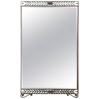 Hall Mirror by Pier Luigi Colli for Cristal Art For Sale
