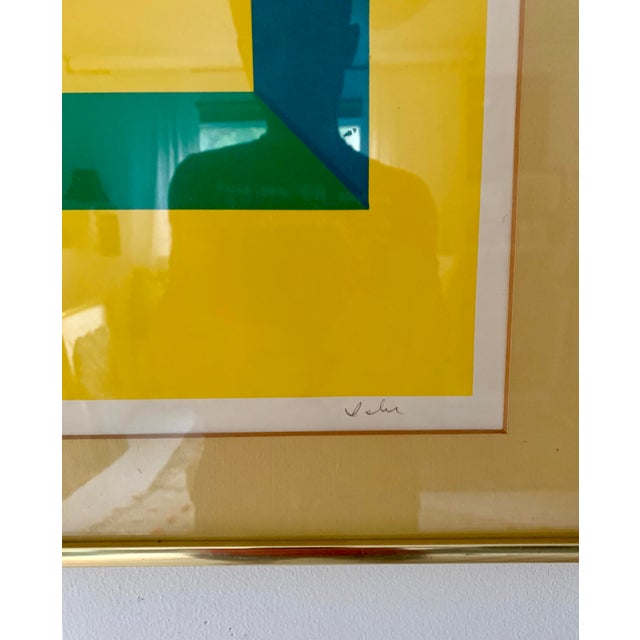1980s 1980s Limited Edition Abstract Painting For Sale - Image 5 of 6