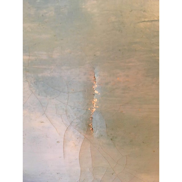 Oil on Canvas of a Moose on a Sky Blue Lake For Sale In Houston - Image 6 of 7