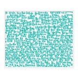 """Image of Large """"haha Turquoise One"""" Print by Kate Roebuck, 41"""" X 31"""" For Sale"""