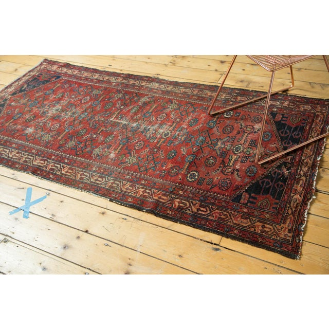 "Vintage Malaye Runner - 3'4"" X 6'9"" For Sale - Image 5 of 9"