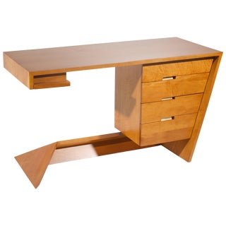 Dan Johnson for Hayden Hall Solid Maple Desk, 1947 For Sale