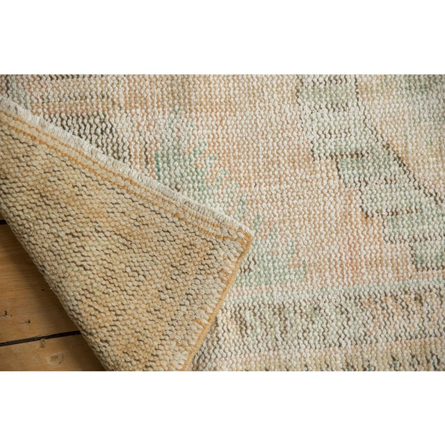 """Shabby Chic Vintage Distressed Oushak Rug Runner - 2'7"""" X 4'11"""" For Sale - Image 3 of 8"""