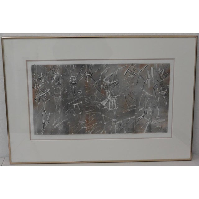 Vintage Pencil Signed Etching With Aquatint - Image 2 of 6