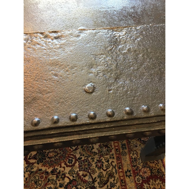 Vintage French Steel Tank Table - Image 8 of 11