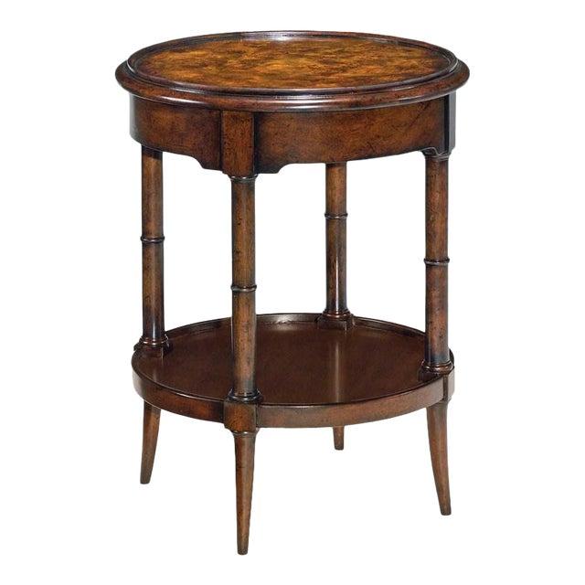 Modern Regency Round Drink Table For Sale