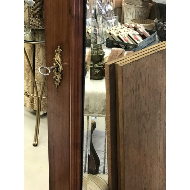 Antique French Wood Armoire - Image 8 of 8