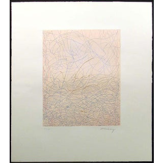 "Mark Tobey ""Morning Grass"" Signed Numbered Etching C. 1975 Preview"