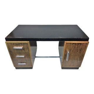 Art Deco Gilbert Rohde Two-Tone Desk