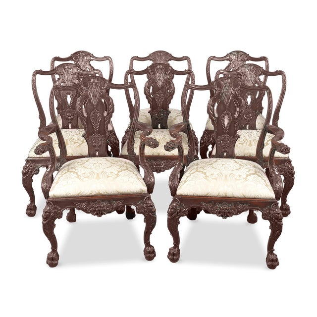 Set Of Eight 19th Century English Dining Chairs - Image 2 of 6