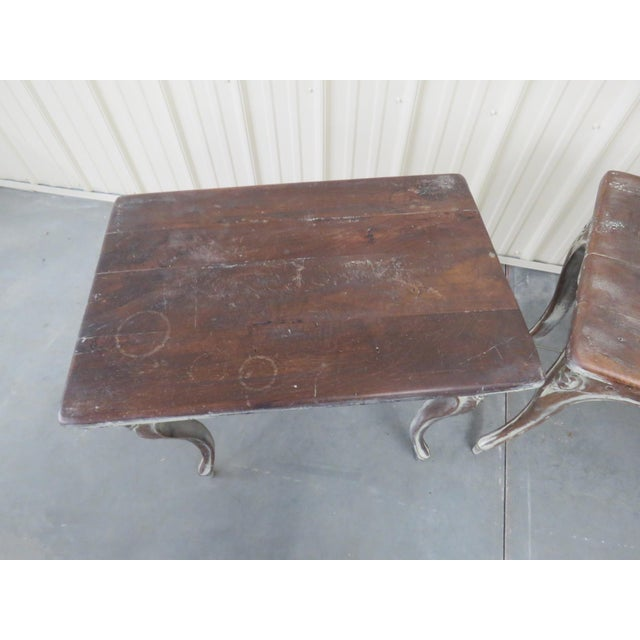 Early 20th Century Louis XV Style End Tables - a Pair For Sale In Philadelphia - Image 6 of 9