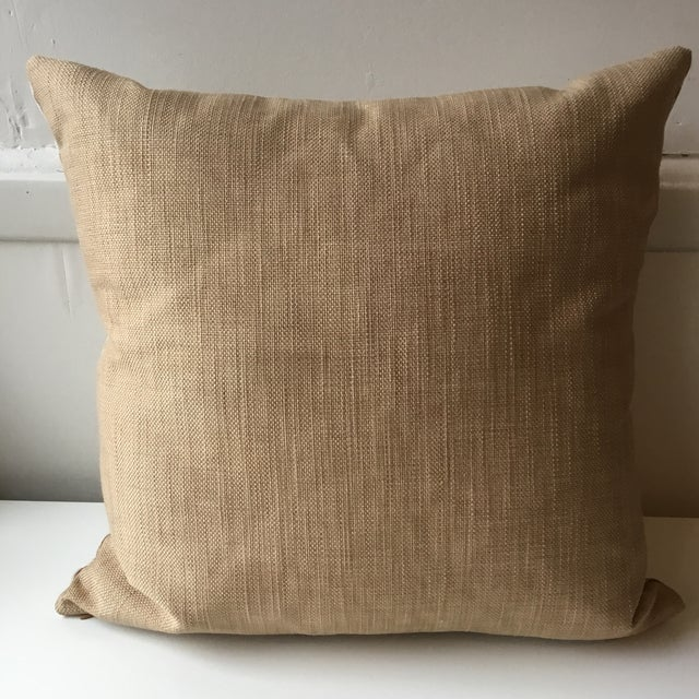 Contemporary Neutral Tiger Stripe Pillow For Sale - Image 3 of 10