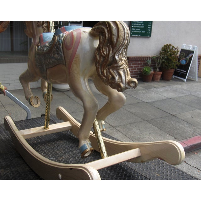 S&S Carvers Carousel Rocking Horse - Image 3 of 8