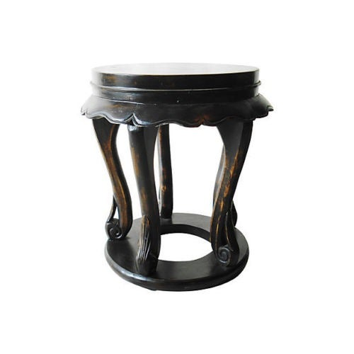 Chinese Low Table Stools - A Pair - Image 3 of 4