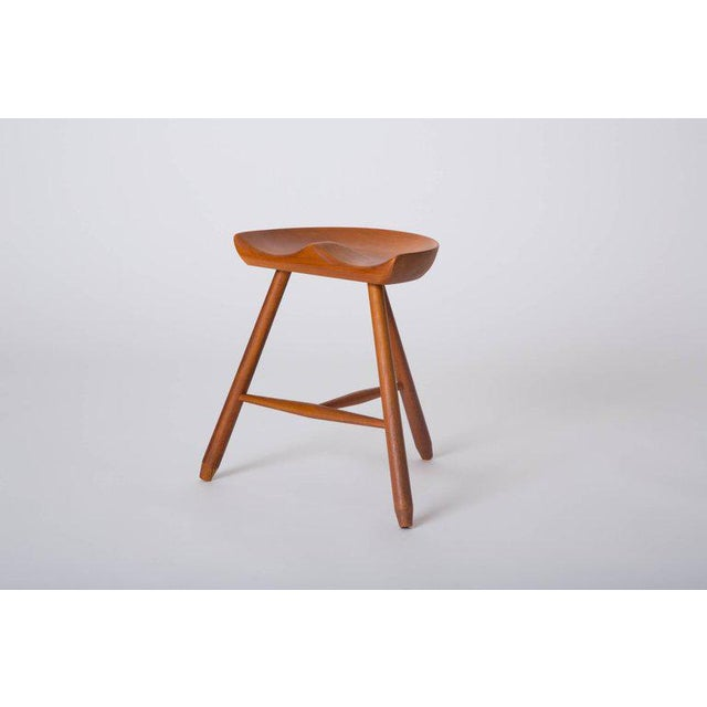 Danish Modern Milking Stool For Sale In Los Angeles - Image 6 of 10