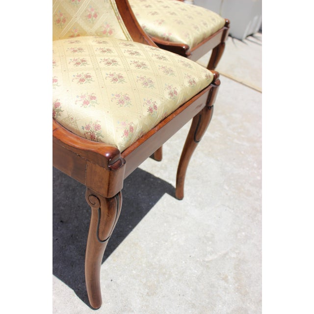 French Charles X Revival Dining Chairs - Set of 6 For Sale - Image 11 of 13